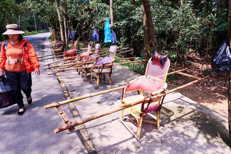 bamboo palankeen