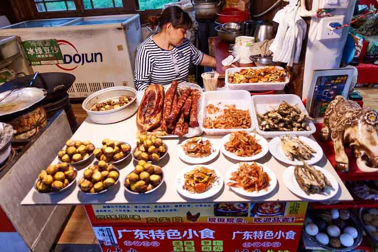 food in Huanglong