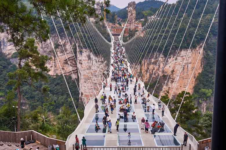 Glass Bridge Grand Canyon