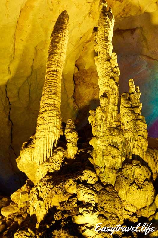 cave yellow dragon