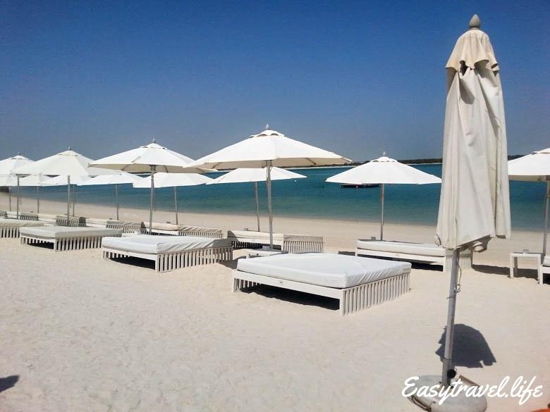 best beach abu dhabi