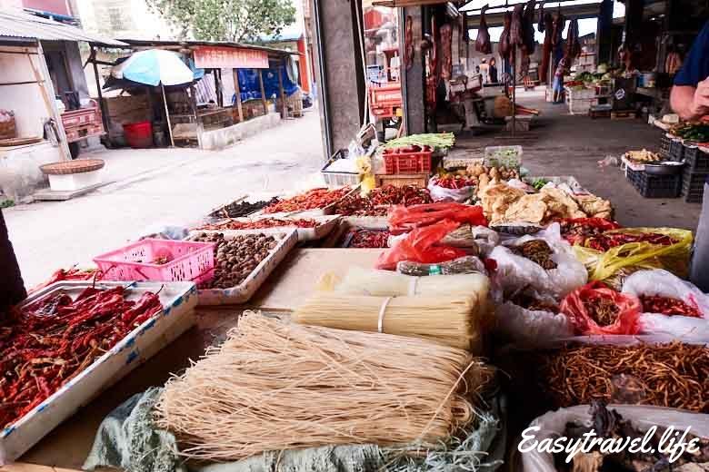 Zhangjiajie market
