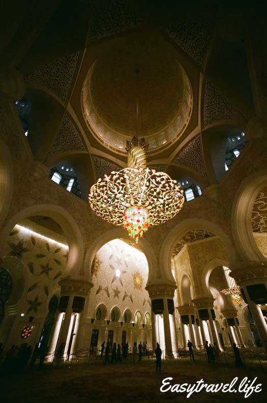 The biggest chandelier