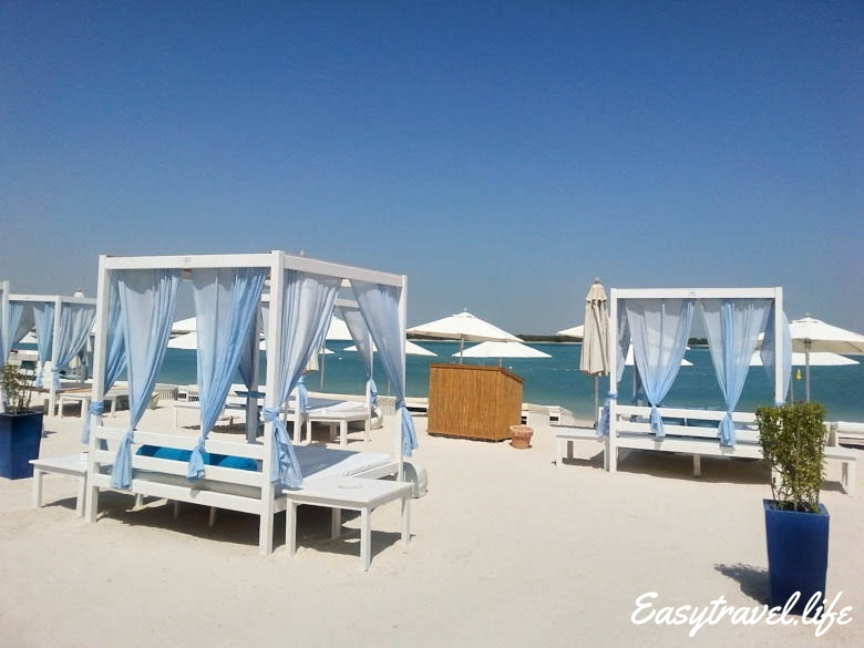 white beach abu dhabi