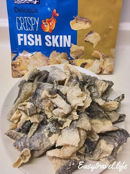 crispy fish skin