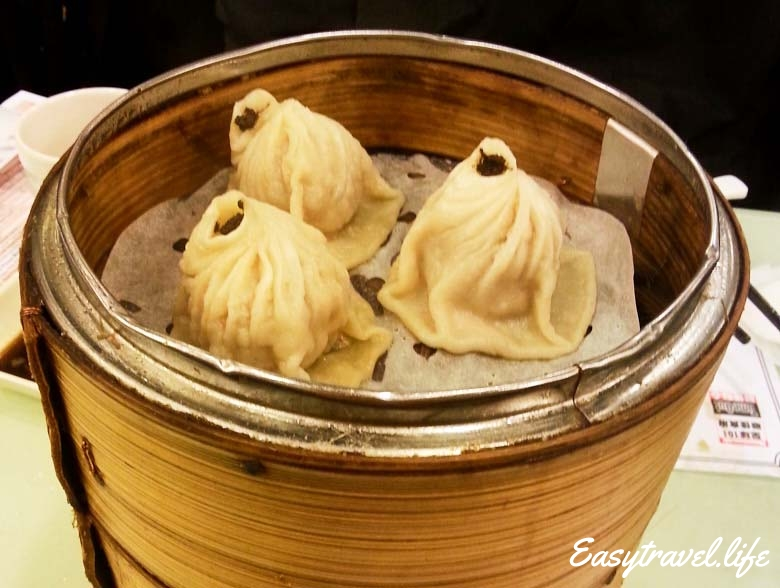 Shanghai Dumplings with Black Truffle