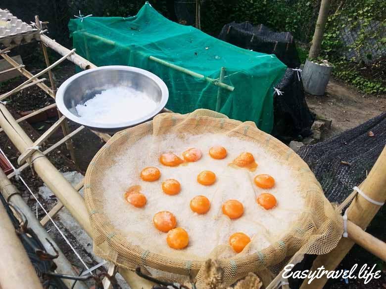 dried yolk