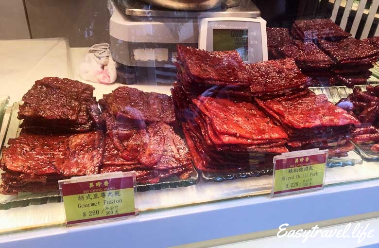 dry meat