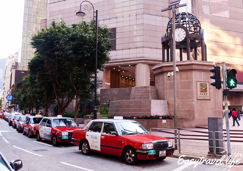 red taxi hk